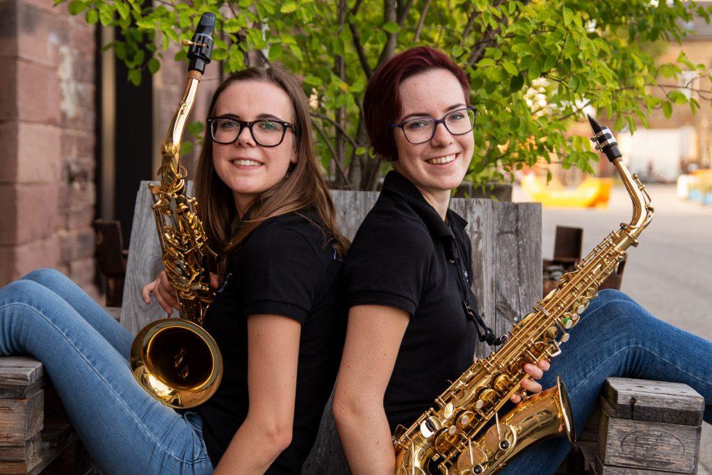 Die Holzblasinstrumentenfraktion von JazzMazz