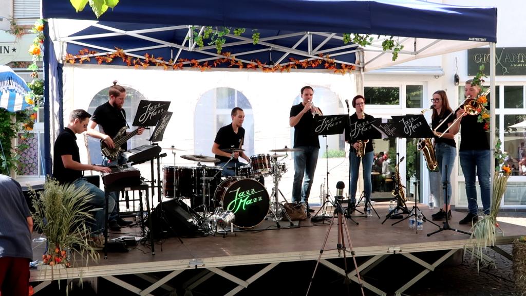 JazzMazz beim Weinfest Durlach